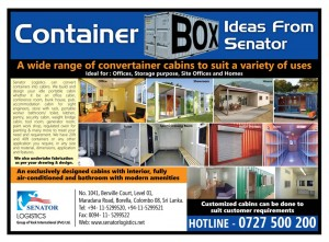 Container Offices, Stores, Site offices and Homes by Senator Logistics