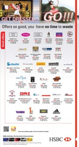 HSBC Srilanka Credit Card offers for September 2012