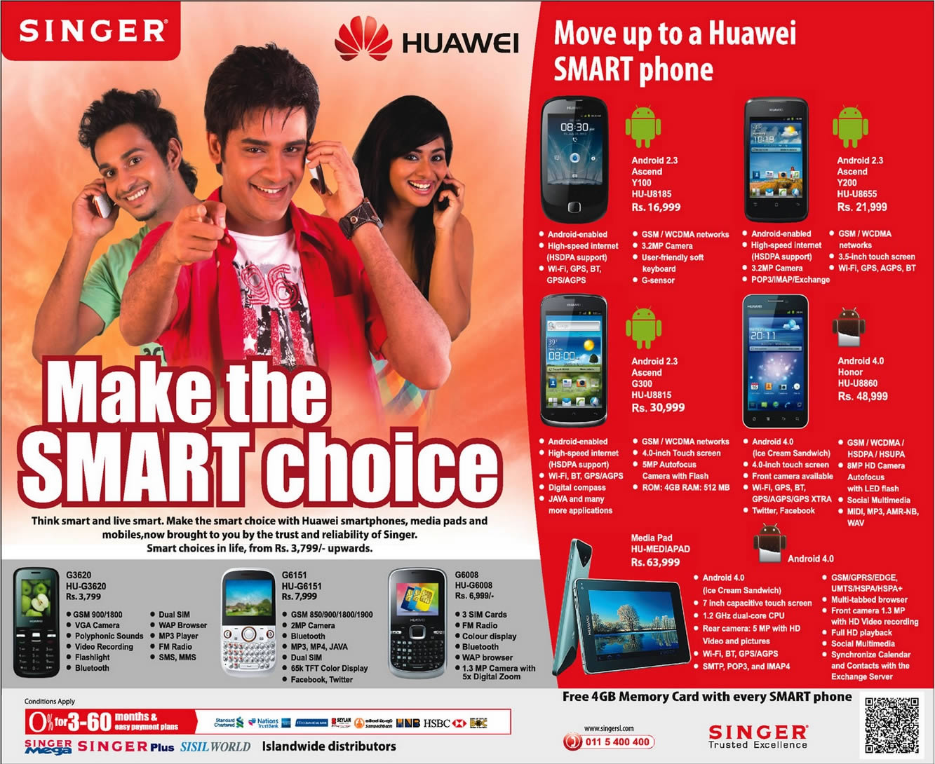 huawei Mobiles Prices and Promotions in Sri Lanka – SynergyY