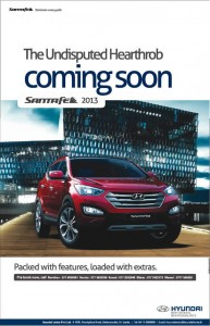 Hyundai Santafe 2013 pre booking in Srilanka
