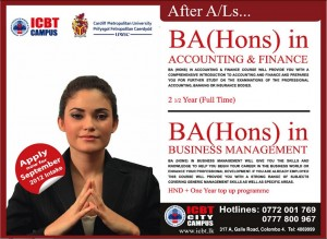 ICBT City campus BA (Hons) in Accounting & Finance or Business Management