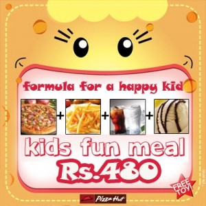 Kids Fun Meal for Rs. 480.00 in Pizza Hut Srilanka