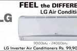 LG Air Conditioners (A/C) for Rs. 99,900 onwards