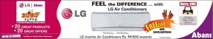 LG Air Conditioners (AC) for Rs. 99,900 onwards