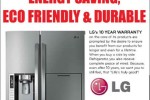 LG Side by side Refrigerator for Rs. 539,900.00