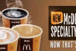 McDonald's Specialty Coffee in Srilanka from today