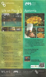Mount Lavinia Hotel Offers till October 2012