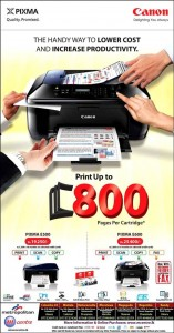 Pixma Printers in Srilanka for Rs. 19,250 to Rs. 25,400.00