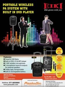 Portable Wireless Speaker System for Rs, 95,000.00 + VAT