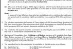 Postgraduate Diploma in Health Sector Disaster Management – December 2012