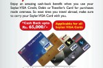 Seylan Bank Credit or Debit card Cash back offer from 14th August to 15th September 2112