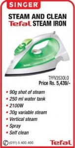 Singer Steam Iron Box for Rs. 5,439.00