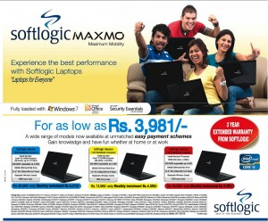 Softlogic Maxmo (Softlogic Laptops) From Rs. 69,990.00 to Rs. 89,990.00