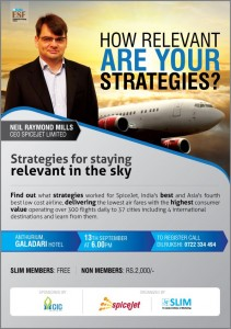 Spice Jet CEO's Discussion Forums in Srilanka – 13th September 2012