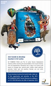 Srilanka Tourist Directory – FREE issue from SLT Rainbow Pages
