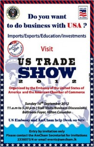 US Trade Show 2012 in Sri Lanka