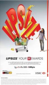 Upsize your HSBC Rewards till 28th October 2012