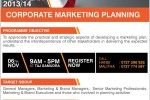 Corporate Marketing Planning for Year 2013/2014 – Workshop by SLIM