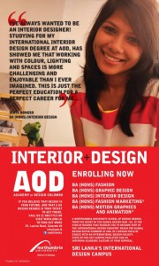 Design Degree Programmes in Srilanka