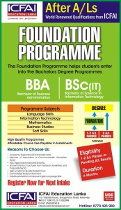 Foundation Programme from ICFAI Srilanka