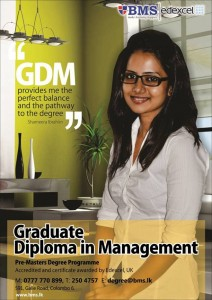 Graduate Diploma in Management by BMS Srilanka
