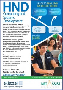 HND in Computing and System Development by Netassist