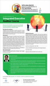 Integrated Executive Auditor Course Workshops in Srilanka