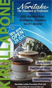 Noritake Lanka Porcelain opens its new Showroom in Kirullapone