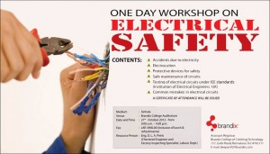 One Day Workshop on Electrical Safety by Brandix College of Clothing Technology