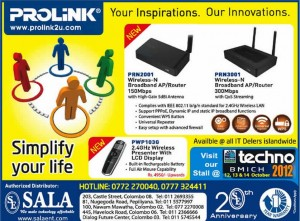Prolink Broadband APRouters for Sale in Srilanka - Sala Enterprise