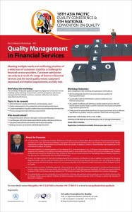 Quality Management in Financial Service Workshops in Srilanka