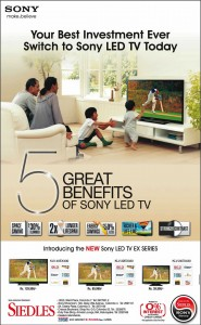 Sony LED TV's Prices and Features in Srilanka