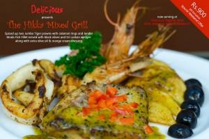 The Hikka Mixed Grill at Choco Luv Srilanka