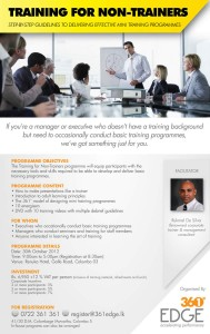 Training for Non-Trainers – Workshop in Colombo
