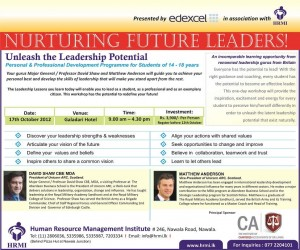 Unleash the Leadership Potential – A Leadership Workshop in Srilanka