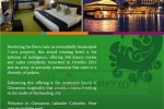 Cinnamon Lakeside – Only Hotel with Green Global Certification