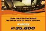 Fly Sydney for Rs. 35,600 from Tiger Airways