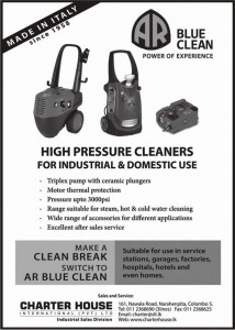 High Pressure Cleaners for Industrial & Domestic Use