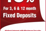 16% Highest Interest Rate for Fixed Deposits from Pan Asia Bank