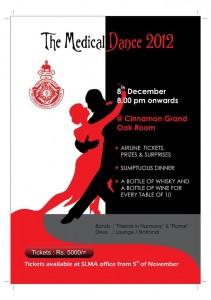 Medial Dance 2012 in Srilanka on 8th December 2012
