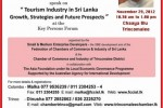 Tourism Industry in srilanka – Growth, Strategies and Future Prospects – a Forum in Trincomalee