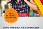 VISA Cash back offer from 15 Oct. to 15 Dec. 2012