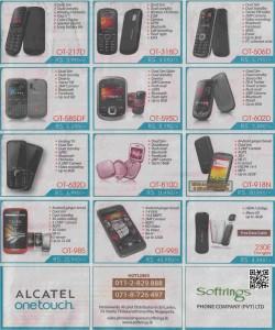 Alcatel Mobiles in Srilanka