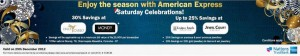 American Express Credit Card Offer for 29th December 2012
