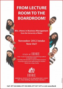 B.Sc (Hons) in Business Management Degree from IIHE
