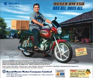 Bajaj Boxer BM 150 Rs. 163,000.00 + VAT in Srilanka