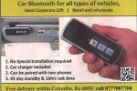 Car Bluetooth for Rs. 6,000.00 in Srilanka