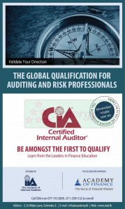 Certified Internal Auditor in Srilanka