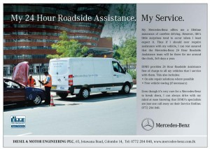 DIMO Mercedes Benz 24 Hours Roadside assistance