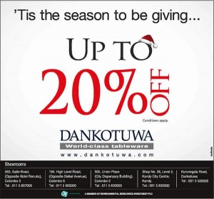 Dankotuwa Up to 20% Off for this season